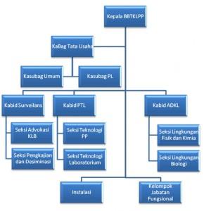 Struktur Organisasi BBTKLPP Jakarta