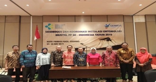 Pertemuan Desiminasi dan Koordinasi Instalasi Entomologi BB/BTKL PP Se Indonesia Th. 2019